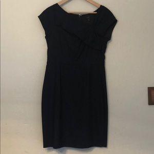 J. Crew navy wool dress size 8
